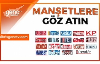 KKTC Gazetelerinin Manşetleri - 27 Şubat 2020