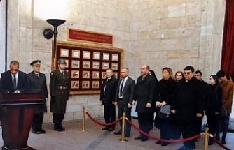 Meclis Komite heyeti Anıtkabir'de