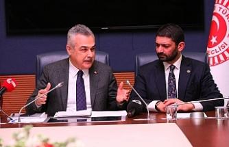 Meclis Komite heyeti TBMM'de temaslarda bulundu