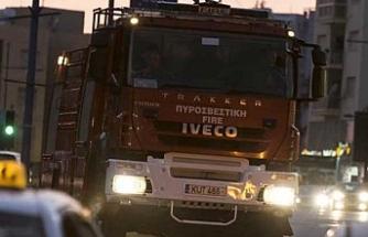 Yangın sonucu, bir kişi yanarak hayatını kaybetti