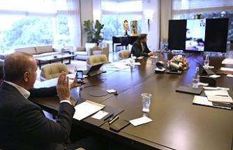 Erdoğan, KKTC'den gidip karantina doğum yapan vatandaş ile görüştü