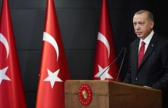 """Erdoğan: """"Hiçbir virüs, hiçbir salgın Türkiye'den güçlü değildir"""""""