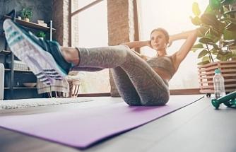 Evde vücudu zinde tutmak için 7 temel egzersiz önerisi