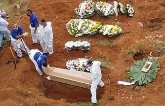 Brezilya'da Kovid-19 nedeniyle ölenlerin sayısı 22 bin 666'ya yükseldi