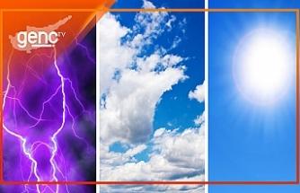 Cuma ve Cumartesi yer yer hafif yağmurlu olacak