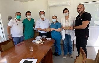 Hastaneye Kapnografi cihazı bağışı