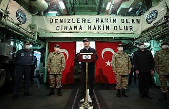 """""""Kıbrıslı kardeşlerimizin hakkını hukukunu korumakta kararlıyız"""""""