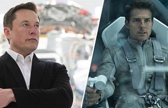 'Tom Cruise, Elon Musk ve NASA, uzayda çekilecek ilk kurgu film için işbirliği yapıyor'