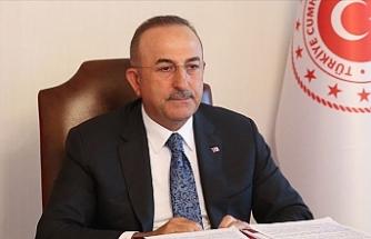 """Çavuşoğlu: """"Doğu Akdeniz'de Türkiye'nin olmadığı hiçbir anlaşma geçerli değil"""""""
