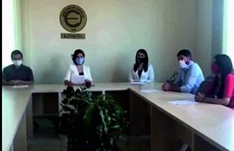 Okulların durumu ve alınması gereken tedbirler konusunda basın toplantısı