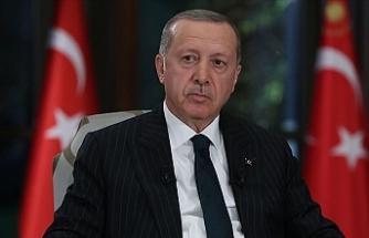 """Erdoğan: """"Adil bir paylaşımı esas alan her türlü teklife açığız"""""""