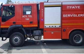 Gönyeli Yenikent bölgesinde ve Gaziköy'de yangın çıktı
