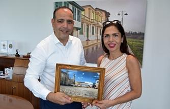 Harmancı, Muratpaşa Belediyesi Başkan Yardımcısını kabul etti