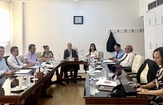 Meclis hukuk ve siyasi işler komitesi toplandı