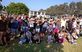 Surlariçi'nde yaşayan çocuklara yönelik etkinlik