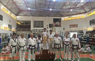 Taekwondo'da bölgeler yarıştı