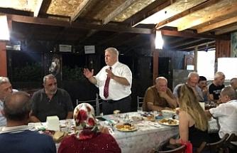 Toplumcu Kurtuluş Partisi Yeni Güçler'den Aydınköy'de toplantı