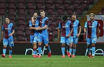 Trabzonspor zirve takibini devam ettirdi