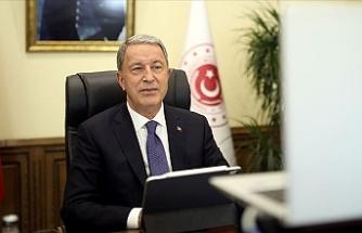 """Akar: """"Doğu Akdeniz'deki hak ve menfaatlerin korunması için tüm tedbirler alındı"""""""