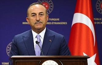 """Çavuşoğlu: """"Doğu Akdeniz'de hem Türkiye'nin hem de Kıbrıs Türklerinin haklarını sonuna kadar savunacağız"""""""