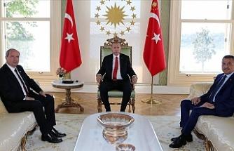 Erdoğan, Tatar'ı kabul etti