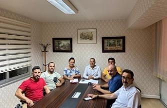 Kempo Savunma Sporları Federasyonu'nda görev dağılımı yapıldı