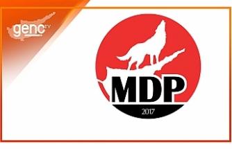 """MDP: """"Anayasa değişikliğine olumlu oy vermek büyük bir hizmet olacak"""""""