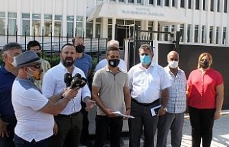 Sendikal Platformdan Başbakanlık önünde basın açıklaması