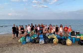 Take Action Cyprus, bu kez Bedis sahilinde temizlik yaptı