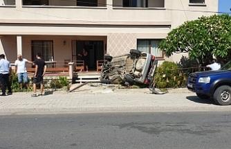 Karşıyaka'da kaza