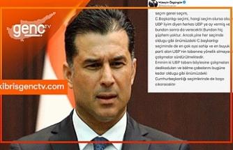 """Özgürgün'den UBP mesajı: """"Tabanı bölme çalışmaları boşa çıkacaktır"""""""