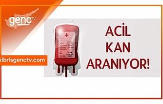 Salih Kırcal için acil olarak A rh +kan aranıyor