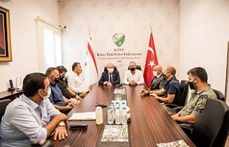 Tatar'dan Futbol Federasyonu'na ziyaret