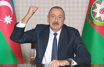 """Aliyev: """"Azerbaycan-İran sınırının işgal altındaki kısımları tamamen kurtarıldı"""""""