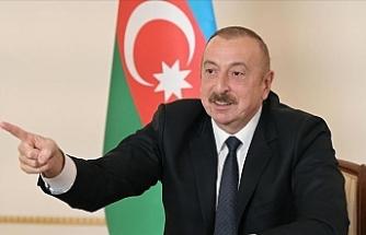 """Aliyev: """"Dışarıdan bir saldırı gerçekleşirse o zaman Türk F-16'ları görecekler"""""""