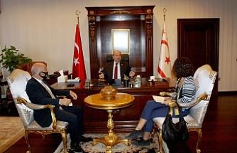 Cumhurbaşkanı Tatar'dan ilk röpörtaj TAK'a