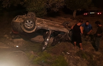 Dün akşam yaşanan kazada 3 kişi yaralandı
