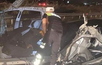 Dün akşamki kazada ağır yaralanan Electious Vhere yaşamını yitirdi