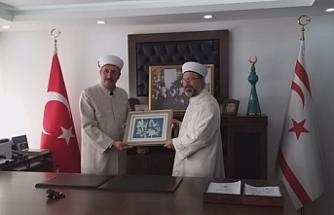 Erbaş'tan Din İşleri Başkan Vekili Fahrettin Öğdü'ye ziyaret