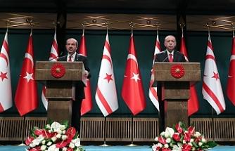 Erdoğan ve Tatar'dan ortak basın toplantısı