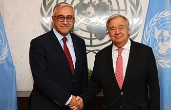 Guterres, Dördüncü Cumhurbaşkanı Akıncı'ya mektup gönderdi