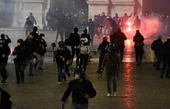 İtalya'da tedbirlere yönelik protestolar devam ediyor