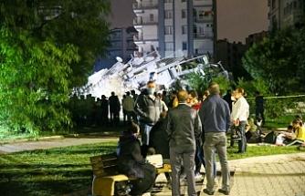 İzmir'deki depremde can kaybı 36'ya yükseldi