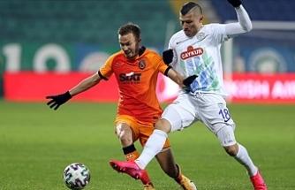 Galatasaray deplasmanda kazandı