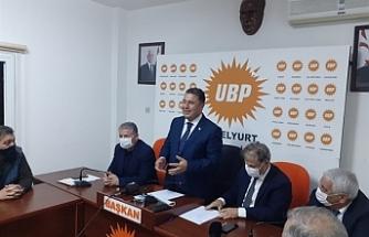 """Saner:""""UBP ekonomik atılım sağlayacak büyük projelerle hizmete hazır"""""""