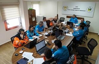 Sivil Savunma afet acil durum (deprem) plan tatbikatı başarıyla gerçekleştirildi