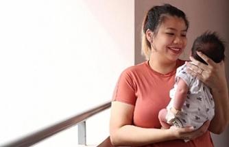 Covid-19 antikoru taşıyan bebek dünyaya geldi
