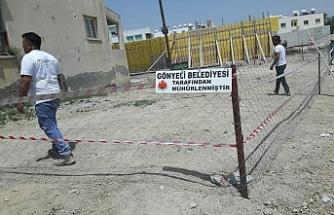 Gönyeli Belediyesi'nden kaçak yapılaşmaya karşı mücadele