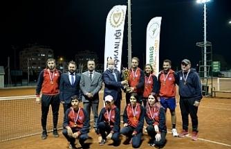 Teniste Cumhurbaşkanlığı Kupası sahibini buldu