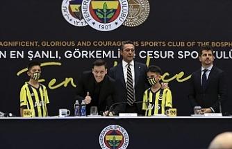 Artık resmen Fenerbahçe'li